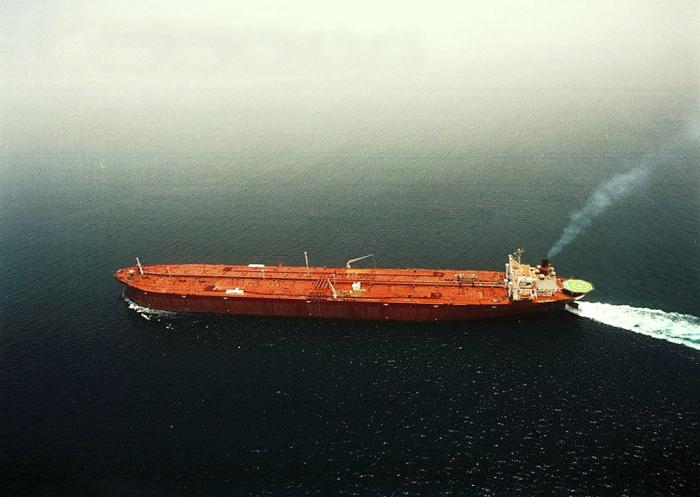 Самый большой корабль до 2009 года.  Фото: grandstroy.blogspot.com.