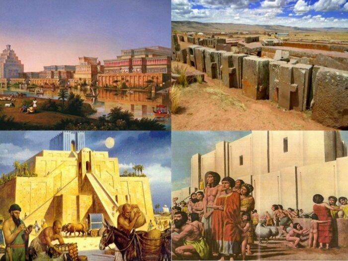 Шумеры строили целые города. / Фото: prezentacii.org