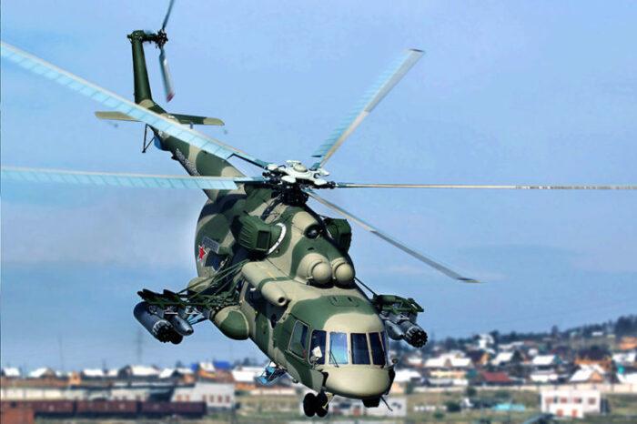 Вертолет с колесными шасси, в отличие от машины на полозьях, может снижаться с горизонтальной скоростью / Фото: ru.krymr.com