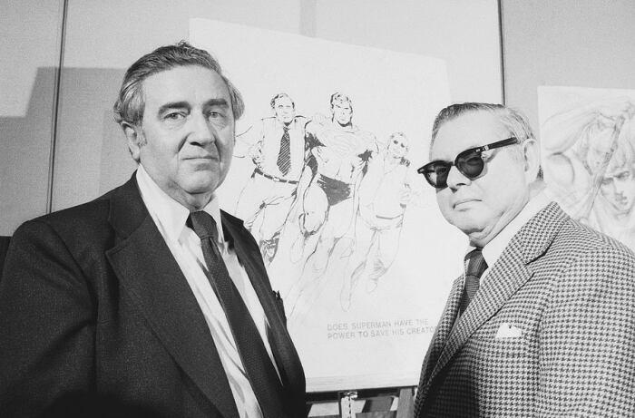 Придумали героя и нарисовали еще в 1933 г. Джо Шустер и Джерри Сигел / Фото: logcchs.com