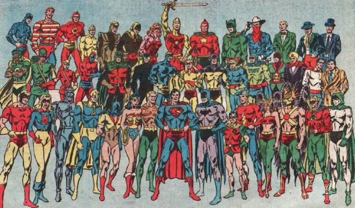 Деталь в виде трусов у Супермена и других супергероев появилась не случайно / Фото: boards.fireden.net