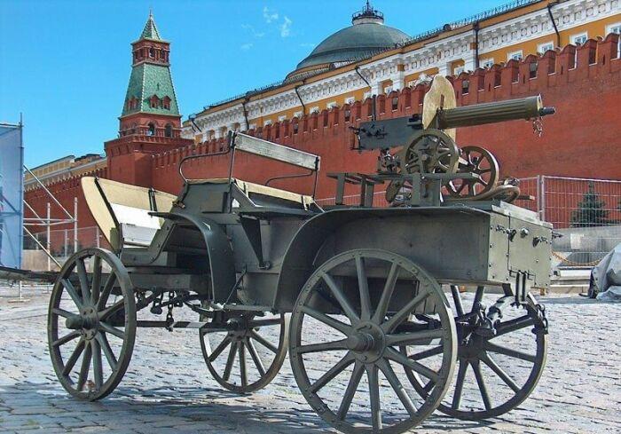 Максим был самым популярным, но не обязательным оружием. |Фото: culture.ru.