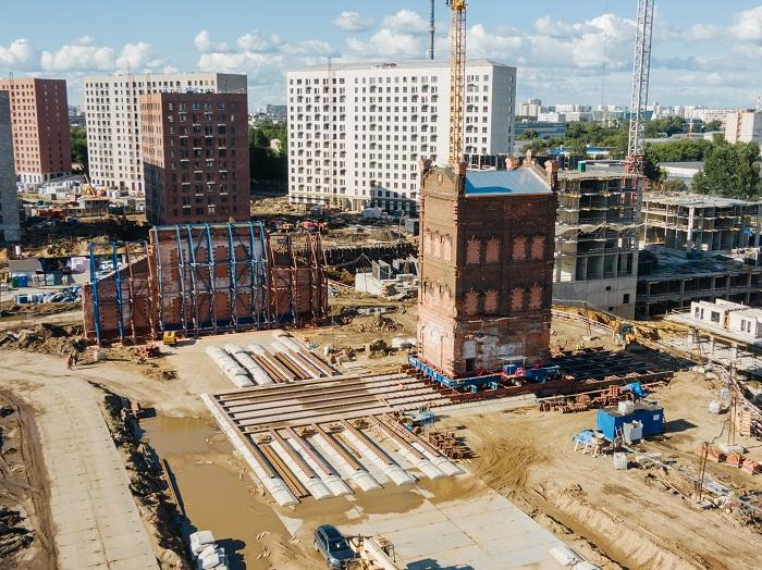 Старинные постройки XIX века не разрушат, а передвинут в сторону.