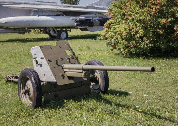 Советская пушка 45-ка. |Фото: Twitter.