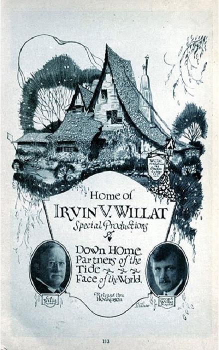 В начале прошлого века The Witch's House можно было увидеть на афишах и во многих печатных изданиях. | Фото: lastmovieoutpost.com.