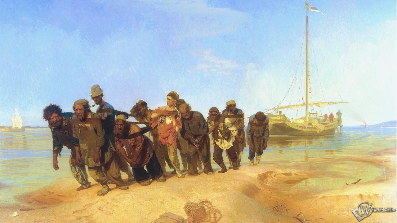 Зачем в России нужны были бурлаки, когда уже существовали пароходы? История