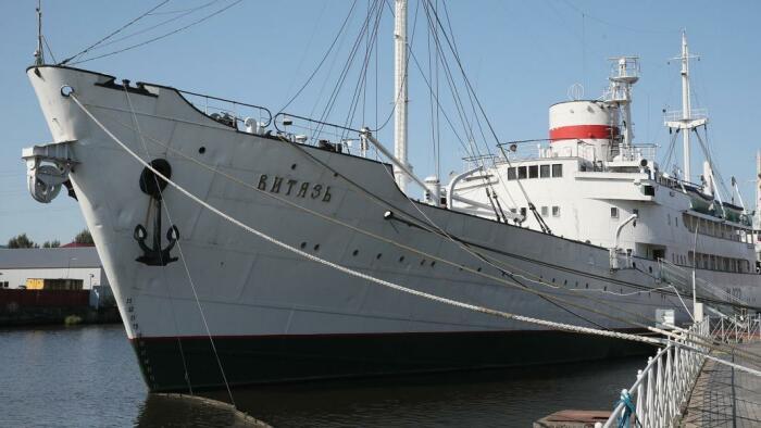 научно-исследовательский советский корабль «Витязь» поставил рекорд, который так и не был никем побит / Фото: kaliningrad-city24.ru