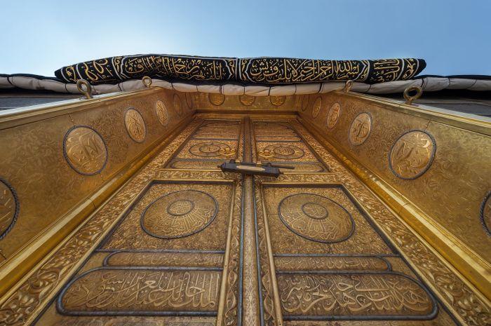 Двери Каабы. /Фото: pinterest.ru.